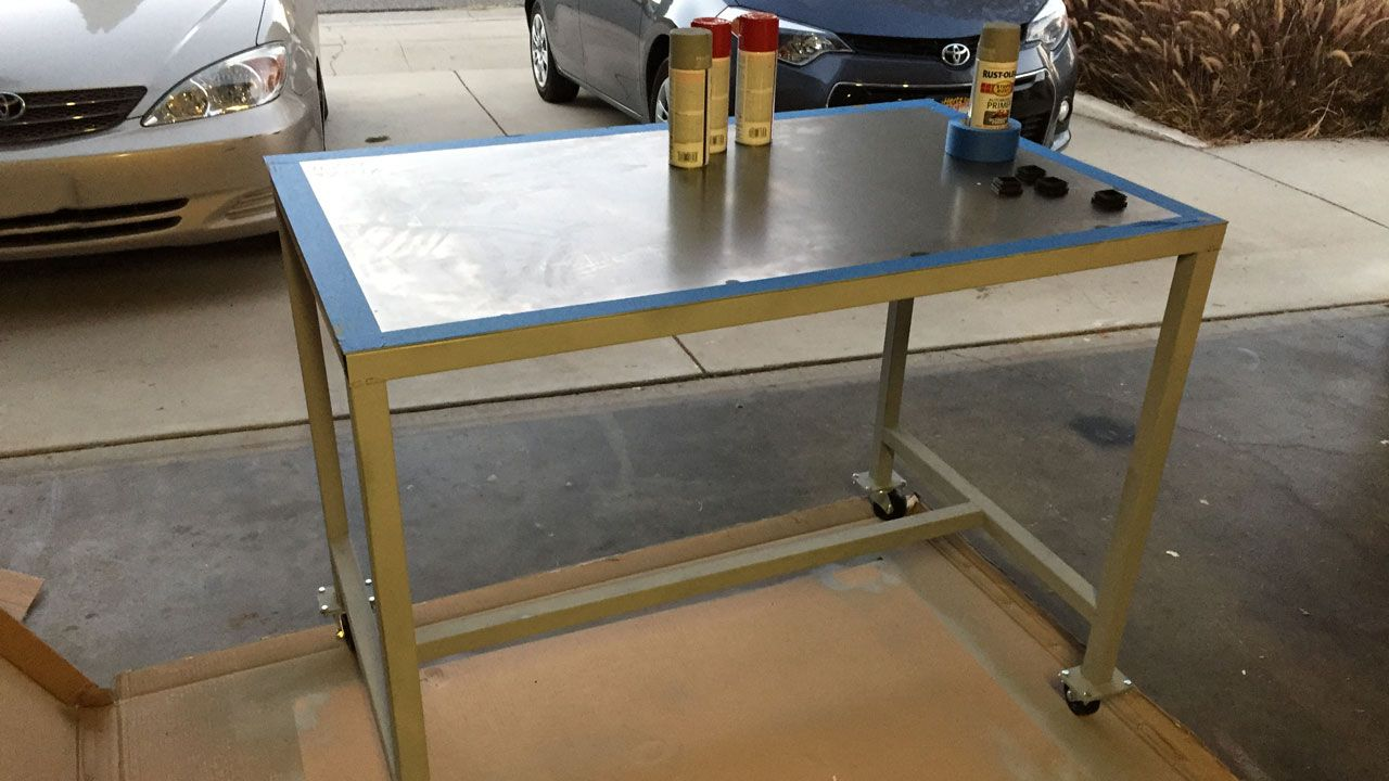 Near finished table